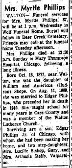 Myrtle Shope Phillips - Newspapers.com