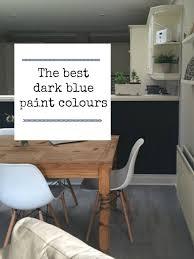 the best dark blue paint colours