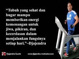 hidup sehat dan bugar setiap hari motivasi djajendra
