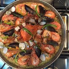 paella filipino style for or