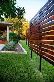 Contemporary Privacy Screen Landscape Design Ideas Pictures Remodel Decor Backyard Privacy Outdoor Privacy Backyard