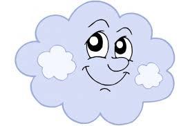 Chmurki - nie011, Niebo - Naklejki na ścianę dla dzieci.