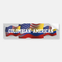 Colombian Flag Bumper Stickers Decals Car Magnets Zazzle