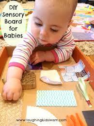 diy sensory board for es laughing