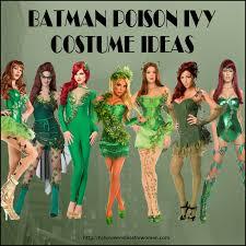 batman poison ivy costume ideas for