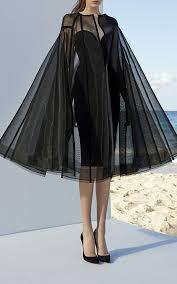Alex Perry Campbell Cape   Sukienki, Sukienka i Stylizacje
