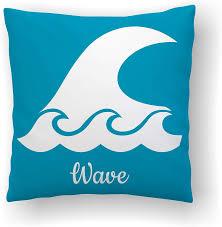 Amazon Com Surfing Decor Pillow Wave Kids Decor Beach Nursery Kids Pillows Surfer Baby Throw Pillow Covers Surf Room Decor Sea Decor Ocean Decor Home Kitchen