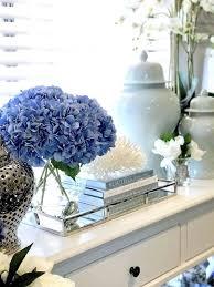 luxury silver rectangular mirrored tray