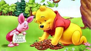 piglet and winnie the pooh planting flowers hd