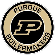 Purdue Boilermakers J Vinyl Die Cut Decal Sticker 4 S