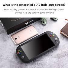 Máy chơi game Arcade GBA PSP X16 màn hình HD 7 Inch