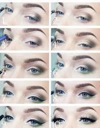 makeup tutorial blue green eyes