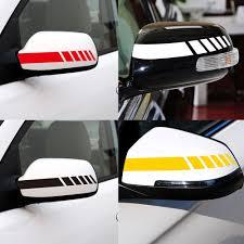 Car Sticker Rearview Mirror Decal Stripe For Mitsubishi Lancer 9 Kia Sorento Nissan X Trail T32 Lifan X60 Kia Rio 2017 Bmw E46 Car Tax Disc Holders Aliexpress