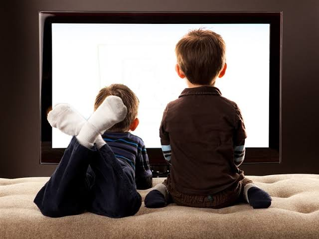 Image result for children watching TV""