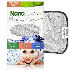 nano towel makeup remover face cloth