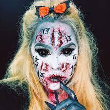 demon makeup tutorial with