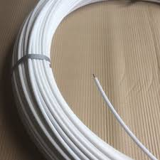 250m Plastic Coated Horse Fence Wire White By Bounceback
