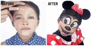 simple minnie mouse makeup saubhaya