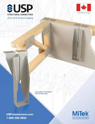 2015 2016 Usp Structural Connectors Catalog Canada By Buildingonline Of Florida Issuu