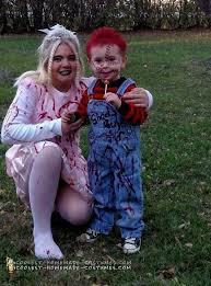 scary chucky and his bride mother