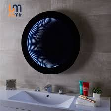 customized bathroom led infinity mirror