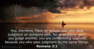 bible verses about judgement net