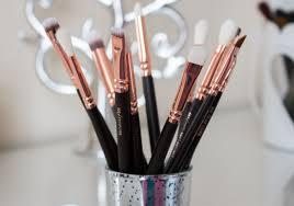 zoeva rose gold brushes review demo