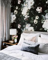 12 rooms with dramatic fl wallpaper