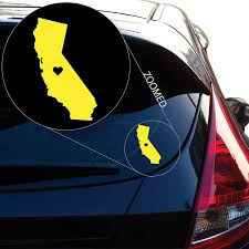 California State Outline Decal Sticker Socal Cali Love Home Car Window Vinyl Auto Parts And Vehicles Car Truck Graphics Decals Magenta Cl