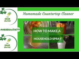 homemade countertop cleaner natural