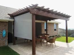 patio shade pergola backyard patio
