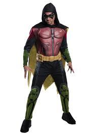men s robin arkham origins costume