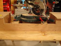 How To Make A Miter Saw Workstation How Tos Diy