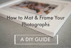 how to frame your prints a diy guide
