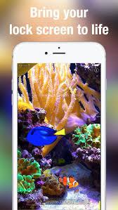 aquarium live achtergronden in de app