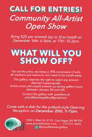 Call for Submissions | Open Call: Group Show | Las Vegas | Priscilla Fowler  Fine Art LLC | Art Jobs