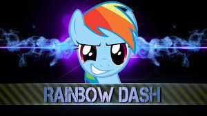 wallpaper rainbow dash cool