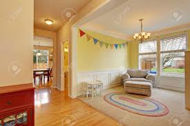 Cute Kids Play Room With White Carpet Floor And Rug Stock Photo Picture And Royalty Free Image Image 60403592