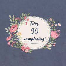 Feliz 90 Cumpleanos El Libro De Firmas Evento Libro De Visitas