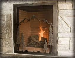 ironhaus large fireplace mountain