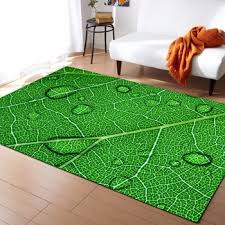 Large 3d Carpets Green Leaf Vein Rug Bedroom Kids Room Play Mat Memory Foam Area Rugs Carpet For Living Room Home Decorative Buy At The Price Of 26 09 In Aliexpress Com