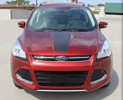 2013 2019 Ford Escape Front Hood Graphic Decal Inlay Matte Etsy