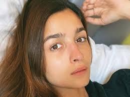 alia bhatt makeup free photos