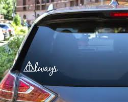 Always Decal Car Decal Hp Wizard Harry Potter Etsy
