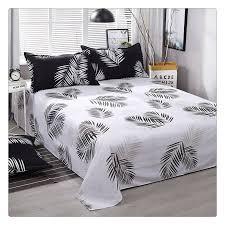 white palm tree bedding set