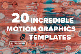 20 incredible motion graphics templates