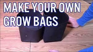 how to make your own grow bags you