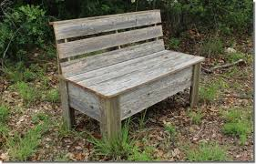 Rustic Bench Plans Make Your Own Bench Using Old Fence Boards