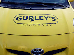 Car Decal Gurley S Pharmacy Designelement Tampa Store