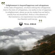 enlightenment quotes teal swan
